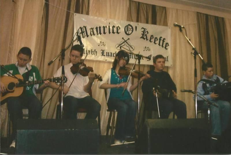 Boherbue Music Group at Kiskeam