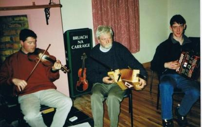 Tuesday Night Comhaltas Seisiún in July & August