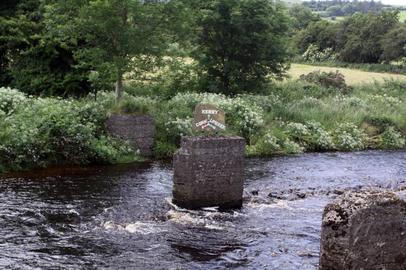 River Feale on Borders of Cork, Kerry & Limerick