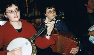 Joanna & Margaret O' Sullivan, Knocknaboul, Ballydesmond